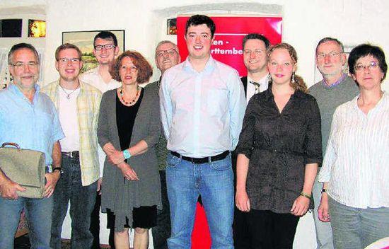 Das Führungsteam der Kreis-SPD